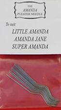 12 Genuine Amanda Jane smocking/pleater needles for Amanda Jane Pleaters