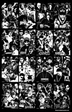 "Hip Hop's History ""Black Light"" Poster B"