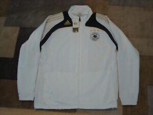 Adidas Officially Licensed 2007 Deutscher Fussball-Bund Pre Suit White Black XL