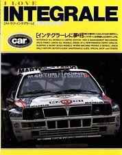 CAR MAGAZINE EX I LOVE INTEGRALE Aug,1997 LANCIA DELTA HF INTEGRALE 8V,16V,