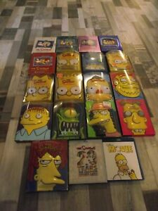 THE SIMPSONS DVD SEASON (1 TO 17) W/ COLLECTOR'S BOX +BLU-RAY SEASON 20 & MOVIE