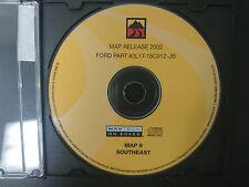 2002 02 Ford GPS DVD Navtech Nav GPS Navigation Map 9 2L1T-18C912-JB #CD138