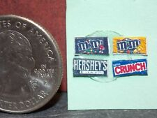 Dollhouse Miniature Wholesale Candy bars 36 pc 1/2 1:24 scale Dolllys Gallery D6