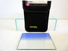"""Tiffen 4x5.65"""" Blue 3 Soft Edge Graduated Filter Horizontal Grad 4565CGB3SH"""