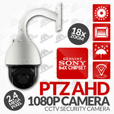 "Sicurezza CCTV PER ESTERNI 7"" SPEED DOME PTZ Camera e l'1080P 18X Zoom analogico HD (UK)"