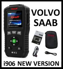 VOLVO SAAB Diagnostic Scanner Tool OIL ABS AIRBAG RESET iCarsoft VOL V1.0 i906