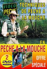 Lot 2 DVD Vidéo Pêche à la mouche