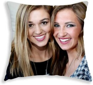 Fab Gifts Personalised Cushion With Fee Filling Photo 100% Cotton Pillow Custom