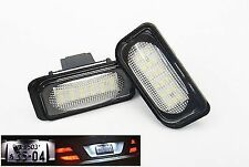 2x Error Free License Plate LED Light Kit For Mercedes-Benz W203 C-Class AMG