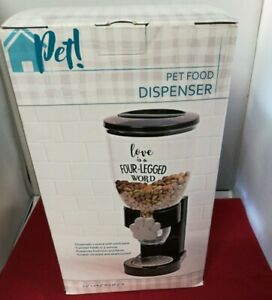 "Pet Food Dispenser ""Love is a Four-Legged Word""  Honey-Can-Do International NEW"