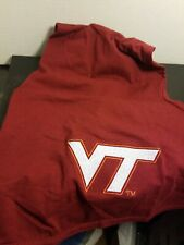 New listing Virginia Tech Collegiate All Star Dogs Size Large Dog Shirt With Hood