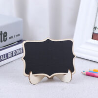 1:12 1:6 Dollhouse Miniature Accessories DIY Wooden Mini Blackboard Chalkbo alJC