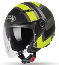 Casco jet Airoh City one Wrap giallo taglia S yellow helmet casque