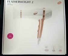 T3 Featherweight 2 Hair Dryer White Rose Gold with Concentrator 73834