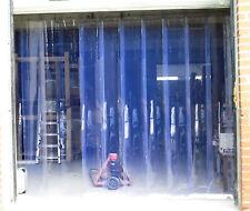 PVC - Lamellenvorhang stabiler Lagervorhang Lagertor Streifenvorhang vormontiert
