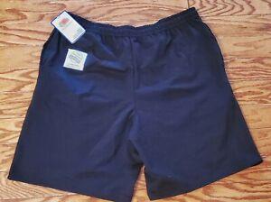 Fruit of the Loom Mens Knit Short Black XL 40-42 New  41-107