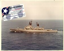Uss Standley Cg-32 Us Navy Guided Missile Cruiser Ship Veteran Crew Photo