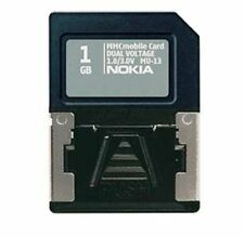 Nokia MMC Mobile Dual Voltage 1GB Memory Card With Card Adapter MU-13 1.8/3.0V