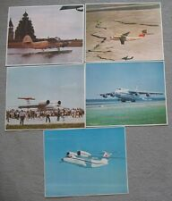Set 5 Photo Advertising Aeroflot Air craft Plane Ways AN 2 124 74 Polar North AH