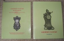 GILBERT CLOCKS and GILBERT CLOCKS SUPPLEMENT two hard-cover books by TRAN DUY LY