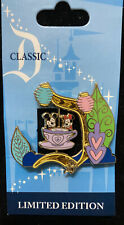 Disney Classic D Dlr Collection Mad Tea Party Attraction Le1000 Tea Cups Spinner