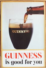 affiche ancienne Guinness is good for you Sanders Phillips 76,5 x 51 cm