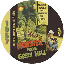 """Monster from Green Hell (1957) Sci-Fi and Horror NR CULT """"B"""" Movie DVD"""