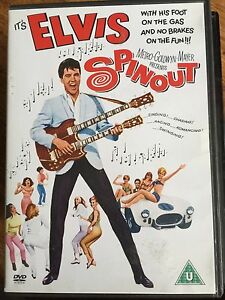 Spinout DVD 1966 Spin Out Musical Classic with Elvis Presley + Shelley Fabares