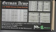 MJ Miniatures German Army Clamp Tool set (1) WW2 1/35th Unpainted kit
