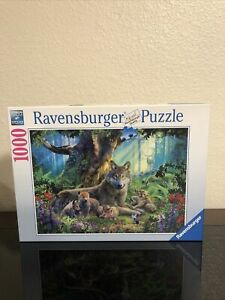 Ravensburger Puzzle Wolves In The Forest 1000 Piece Puzzle