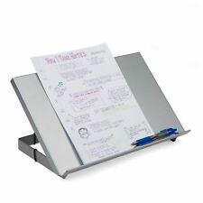 Mind Reader Metal Resting Document Holder Easel Silver