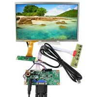 "VGA LCD Controller Board 10.1"" 1366x768 LCD Screen With Capacitive Touch Panel"