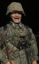 1/6 Scale german WSS officer yelling orders custom figure (DID, BGT, Toys City)