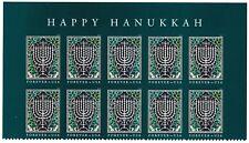 US 5338 Hanukkah forever header block 10 MNH 2018