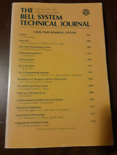 Bell System Technical Journal July-August 1978 Unix Issue