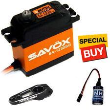 Savox Monster Torque Steel Gear Digital Servo w/ Black Alum Horn / Glitch Buster