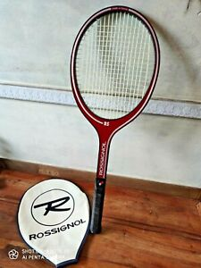 VINTAGE ROSSIGNOL RS L4 1/2 n°2 raquette de tennis Made in France collection