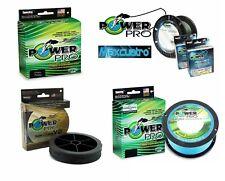 Power Pro Spectra Braided Line 15-130lb 150-500yd MaxCuatro Hollow Ace Slick V2