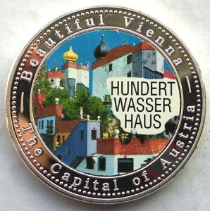 Uganda 2005 Vienna 2000 Shillings Silver Coin,Proof