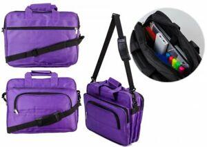 "16""  Widescreen Laptop Bag Notebook Carry Office Case Briefcase Shoulder Bag"