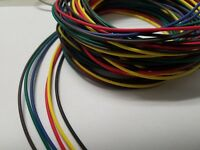 16 AWG GXL HIGH TEMP AUTOMOTIVE POWER WIRE 6 SOLID COLORS 25 FT EA 150 FT brgybb