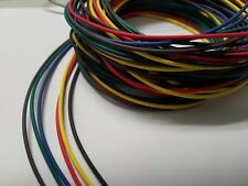 14 AWG GXL HIGH TEMP AUTOMOTIVE POWER WIRE 6 SOLID COLORS 25 FT EA 150 FT brgybb