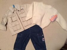 Nwt-Lot Of Baby / Infant Clothing, Jean Pants, Sweater, Jacket-No Reserve!