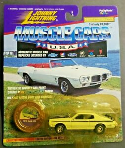 1996 Johnny Lightning Muscle Cars USA 1/64 1970 Buick GSK White Series 2 HW7