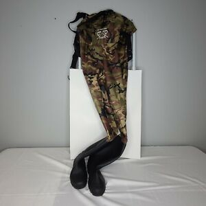 Waterproof Chest Waders Nylon PVC Fishing Wading Boots Men Women US Size 9 NWOT