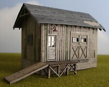 """Bar Mills HO Scale Cusom Built Wood Model """"Simpson Seed and Feed"""""""