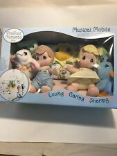 Precious Moments Baby Musical Mobile Loving-Caring-Sharing. New In Box.