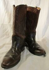 E1392 Red Wing Brown Leather Pecos Engineer Vintage Boots Men's 8.5B