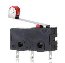 5X / Set Micro Rollenhebel Endschalter KW12-3 PCB MicroswitchAA