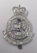 Genuine British Army Issued Royal Military Academy Sandhurst Hat Badge RMAS SLV1
